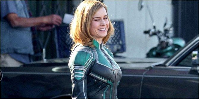 Brie Larson, Sosok Pemeran Captain Marvel